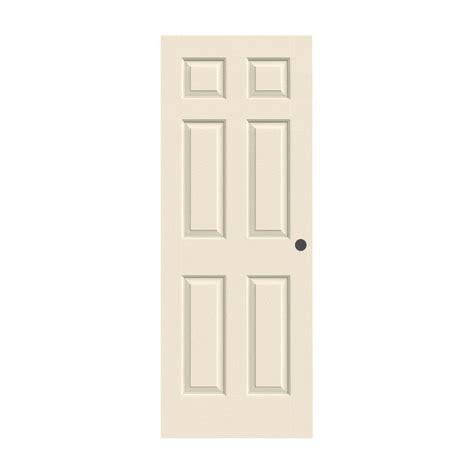 26 interior door home depot jeld wen 26 in x 80 in woodgrain 6 panel primed molded bored interior door slab thdjw136500694