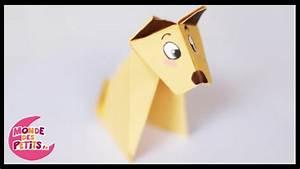 Origami Animaux Facile Gratuit : pliage papier chien ~ Dode.kayakingforconservation.com Idées de Décoration