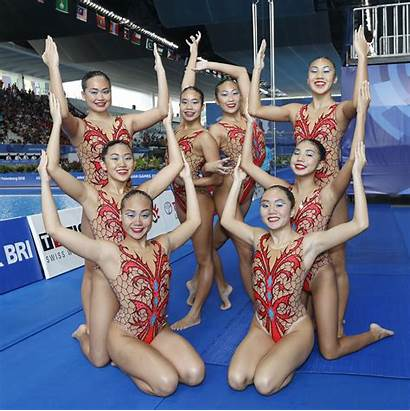 Swimming Artistic Singapore Synchronised Introduction