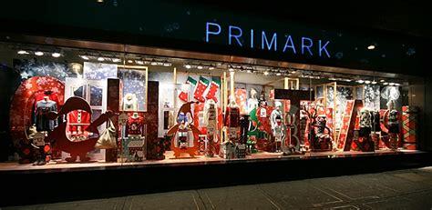 primark christmas shop windows london
