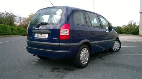 vauxhall zafira 2004 2004 vauxhall zafira for sale in longford town longford