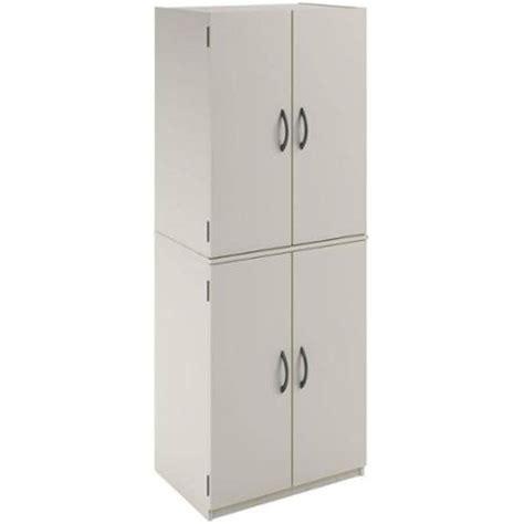 kitchen pantry storage cabinet white  door shelves wood organizer furniture ebay