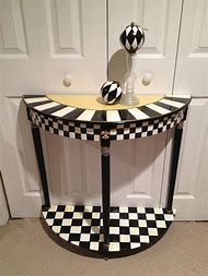 Black and White Hand Painted Furniture