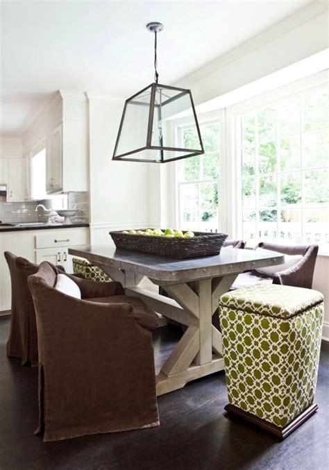 lighting inspiration above kitchen island round table