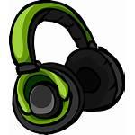 Headphones Clipart Icon Gaming Headset Club Penguin