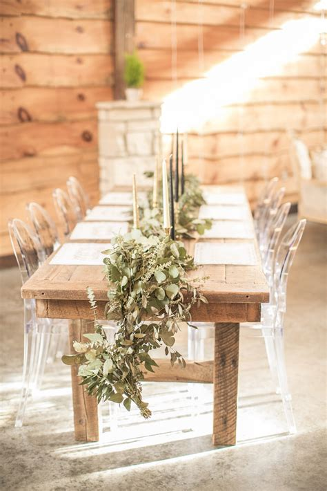 ghost chairs with wood table natural wood table rentals from unique events iowa