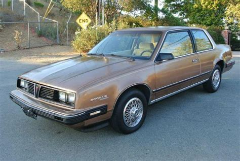1985 Pontiac 6000 Le For Sale In El Cajon Long Beach San