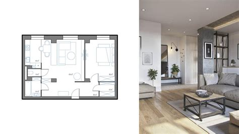 3 One Bedroom Apartments 750 Square 70 Square Metres Includes Layouts by How Big Is 750 Square Apartment