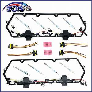 Brand New Valve Cover Gaskets Harness  U0026 Glow Plug Kit For