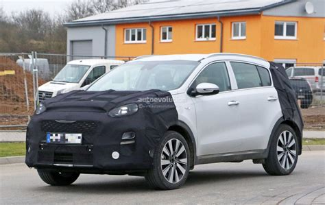 Kia Sportage 2019 by 2019 Kia Sportage Facelift Gets New Ceed Headlights In
