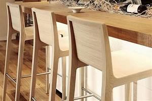 Tabouret Bois Design : tabouret de bar en bois design europ en barazzi ~ Teatrodelosmanantiales.com Idées de Décoration