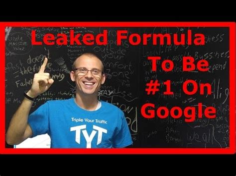 Seo Guru by Seo Expert Leaks His Formula To Be 1 On And Much