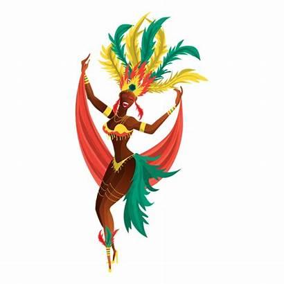 Carnival Carnaval Rio Transparent Dancer Brazilian Janeiro