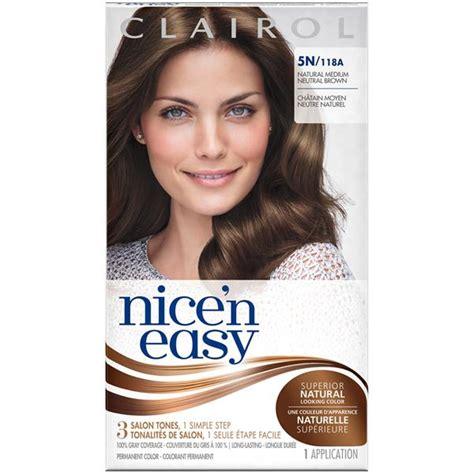 5n hair color clairol n easy 5n 118a medium neutral brown