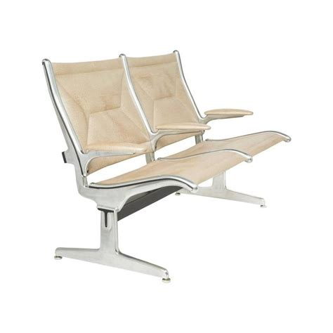 eames for herman miller two seat tandem sling airport