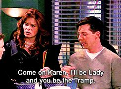 You're crazy for anything Disney.   Jack will and grace ...