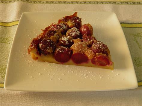 desserts clafoutis aux cerises dessert clafoutis aux cerises terre et mar