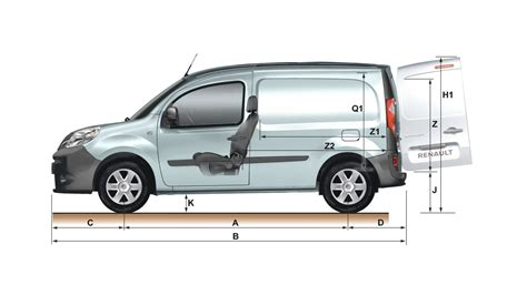 dimensions kangoo express v 233 hicules utilitaires renault alg 233 rie