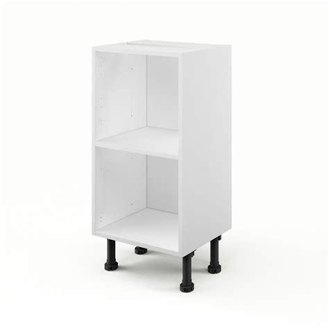 meuble bas cuisine 40 cm profondeur caisson de cuisine bas b40 35 delinia blanc l 40 x h 85 x