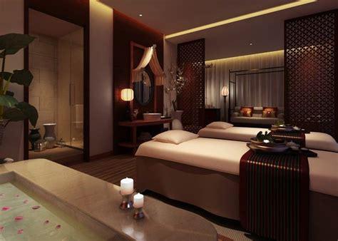 Spa Room : Spa Massage Room Interior Design 3d