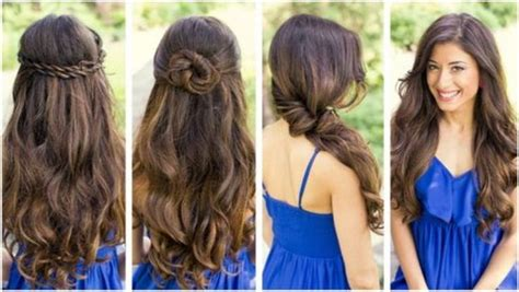hairstyles cute easy hairstyles for long hair youtube