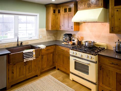 Sage Green Kitchen Cabinets With Black Appliances by Rustic Kitchen Cabinets Pictures Options Tips Amp Ideas
