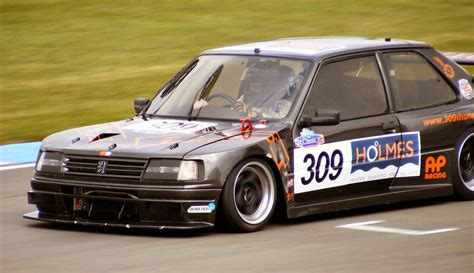 peugeot fast car peugeot special saloon racing series