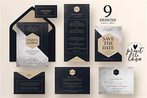 20 wedding invitation suite template word psd and ai With wedding invitation suite software