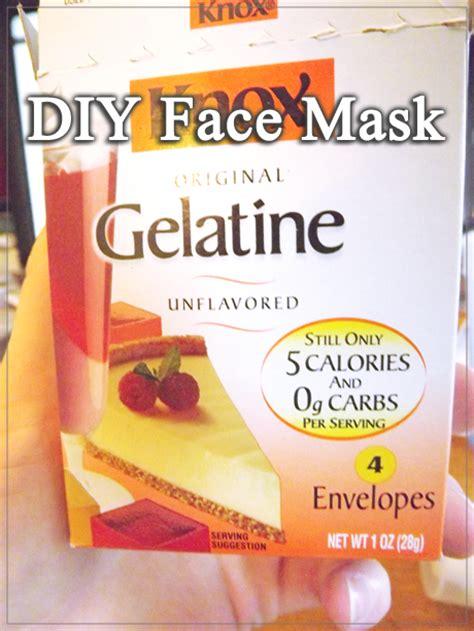 moming  diy facemask  unflavored gelatin