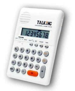 Blind Calculator by Talking Pocket Calculator For The Blind W Braille Ins Ebay