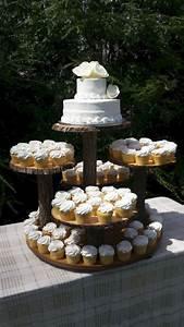 Rustic Wedding Cake Cupcake Stand Design OOSILE