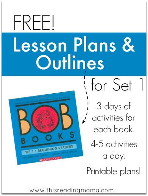 Free Bob Books Lesson Plans  Free Homeschool Deals