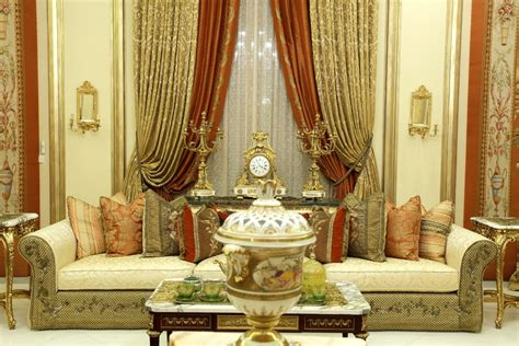 Gold Curtains Living Room Luxury