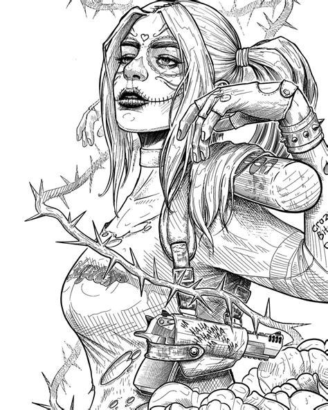 Harley Quinn on Inspirationde