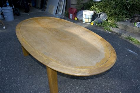 sanding and staining wood table refinishing an oak table wood furnituredecorative