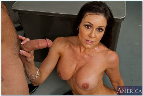 Smoking hot teacher Kendra Lust gets bonked and facialized ...