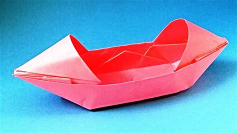 How To Make A Paper Boat That Floats And Holds Weight Step By Step by How To Make A Paper Boat That Floats Origami Boat Canoe