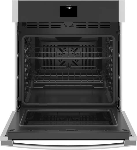 jkssnss ge   built  convection single wall oven stainless steel