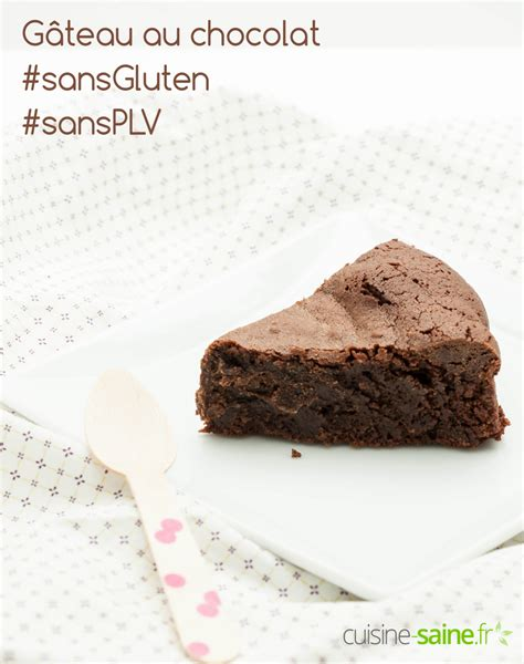 chocolat à cuisiner gâteau au chocolat sans gluten sans produit laitier