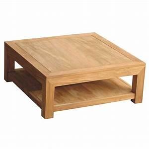 Table Basse Carrée En Bois : ou trouver une table basse pas cher le bois chez vous ~ Teatrodelosmanantiales.com Idées de Décoration