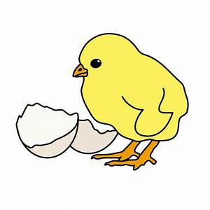 Cute Baby Chick Cartoon - ClipArt Best