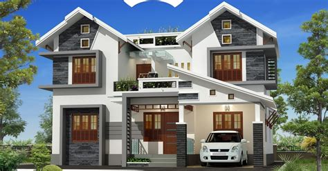 House Designs Indian Style Pictures by Attractive Exterior 4bhk Kerala Villa Design Indian Home