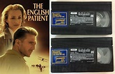 The English Patient (VHS, 1996) Academy Award Best Picture ...