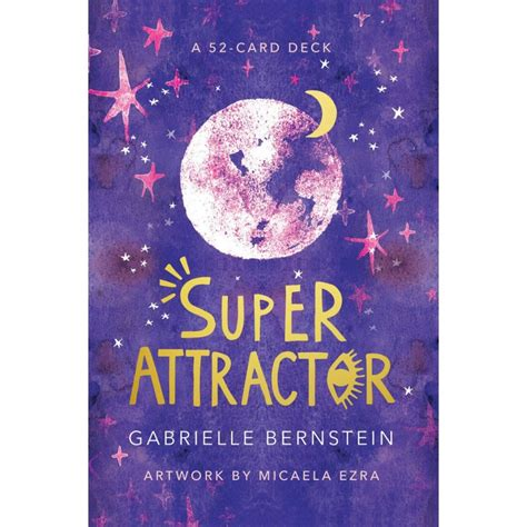 Being a super attractor means that what you believe is what you receive. Super Attractor oracle cards