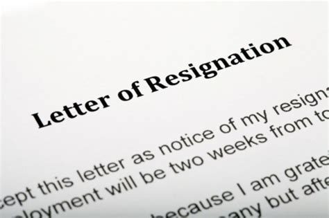 hr  employment law resignation letters solicitors