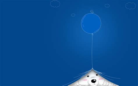 Pretty Cute Desktop Backgrounds Blue