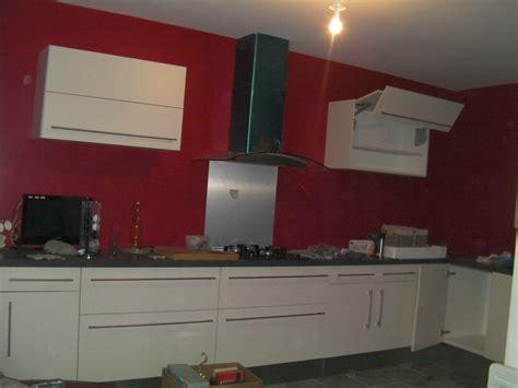 cuisine en u emejing cuisine peinte en beige contemporary seiunkel us