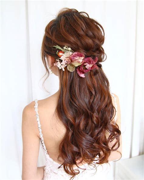 23 stunning half up half down wedding hairstyles all things hair uk