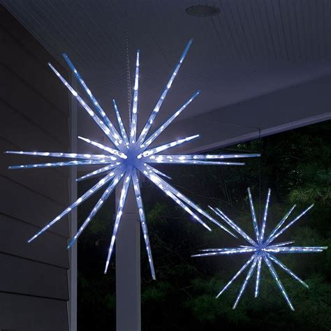 moravian star light show hammacher schlemmer