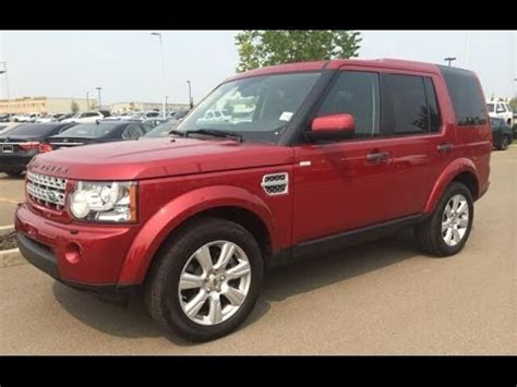 pre owned red  land rover lr wd dr  lux package